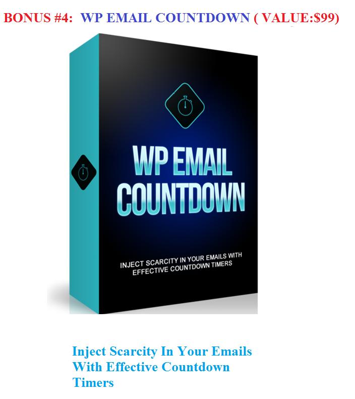 bonus 4 wp email countdown