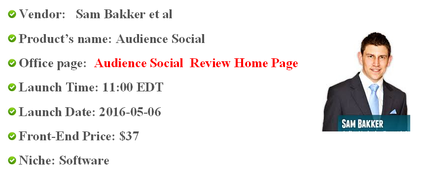 audience social overview