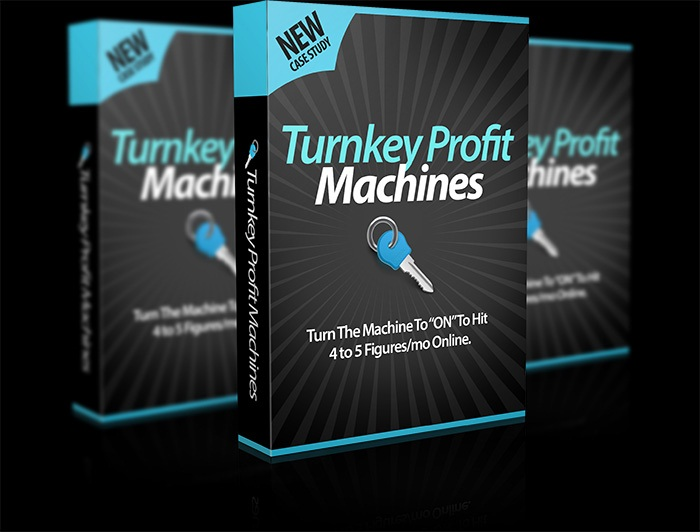 Turnkey Profit Machines Review & Bonus