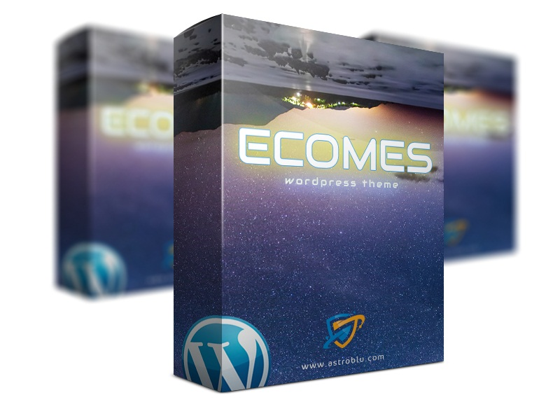 ECOMES WordPress Theme Review - Attract Customers From The First Sight