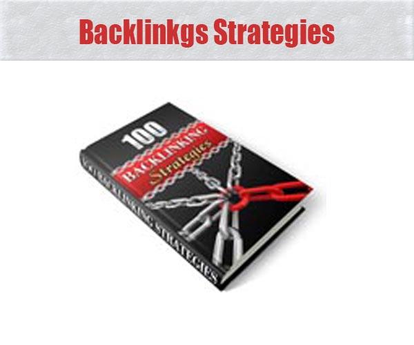 Backlinkgs Strategies
