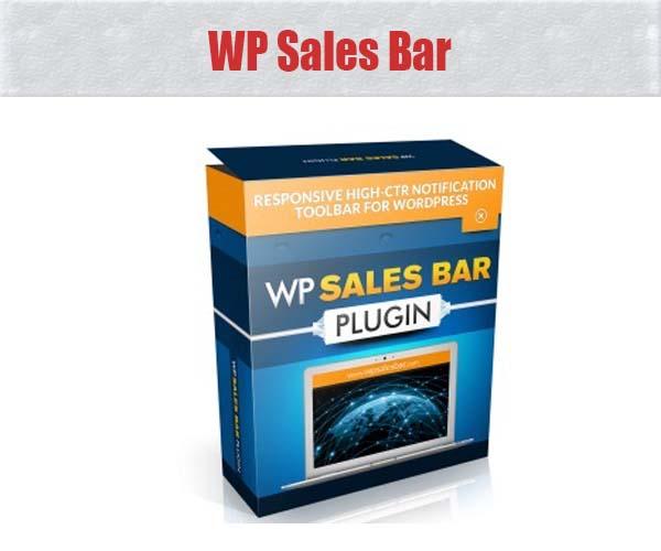 WP Sales Bar