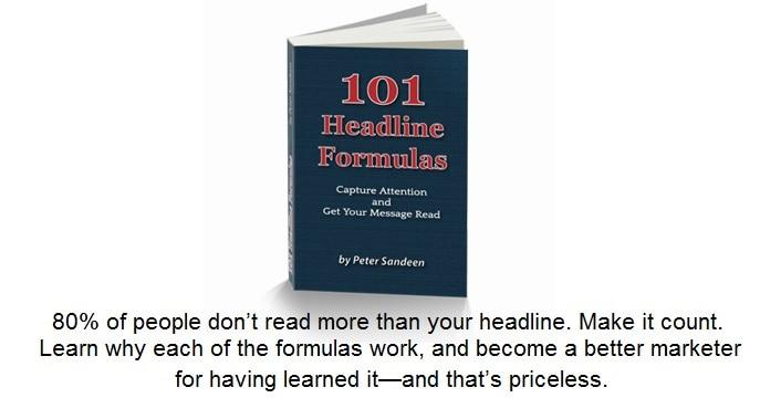101 Headline Formulas
