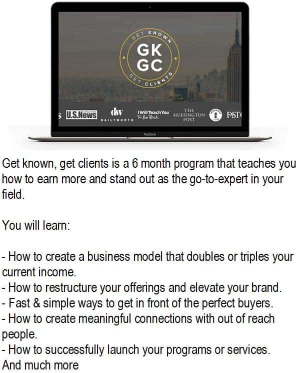 Get-Know-Get-Clients
