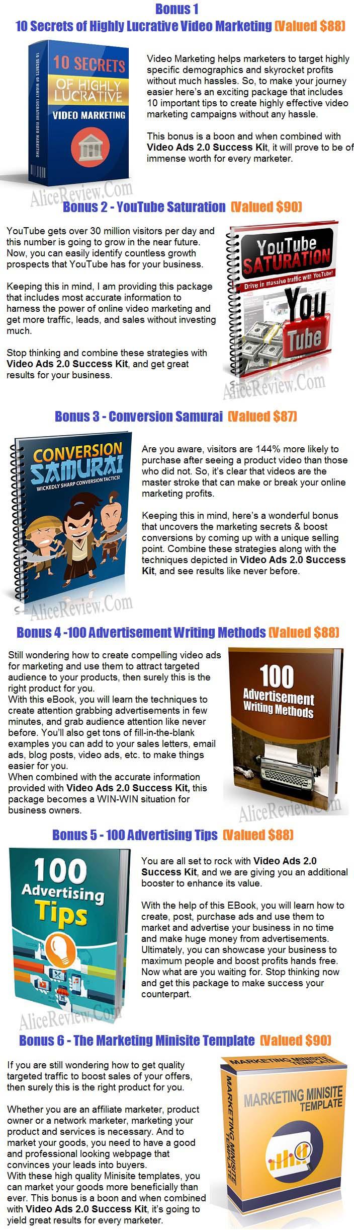 Video Ads 2.0 Success Kit PLR Bonus