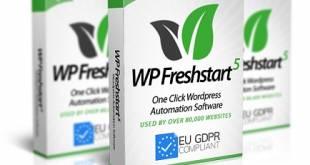 WP Freshstart 5 Review