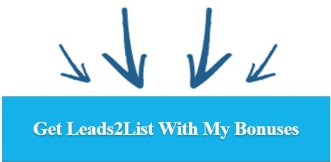 Get Leads2List Early Bird Discount