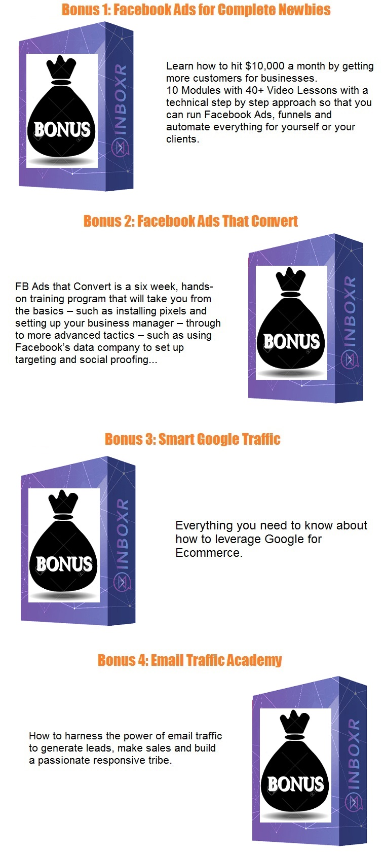 Inboxr bonus