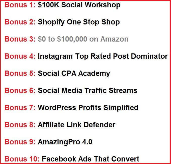 SociFeed huge bonus