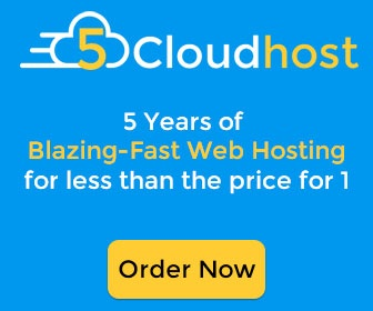 5CloudHost Review & Special Deal- Get 5 years of web hosting for less than the price of one