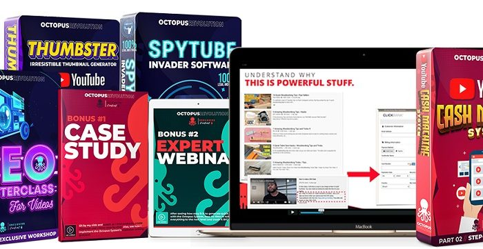 Octopus Revolution Review and Bonus – 4-IN-1 Youtube Software + Tactics Generated Over 1,000,000 Visitors FOR FREE THIS MONTH!