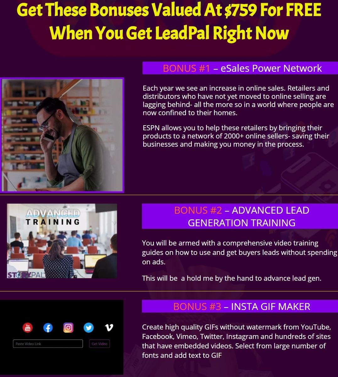 bonus LeadPal
